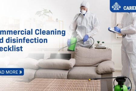 Commercial Cleaning and disinfection checklist